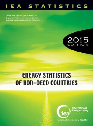 Cover image for the book Energy Statistics Of Non-OECD Countries: 2015
