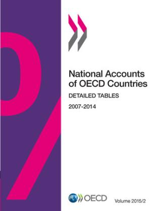 Cover image for the book National Accounts Of OECD Countries, Detailed Tables: 2015/2, Volume 2
