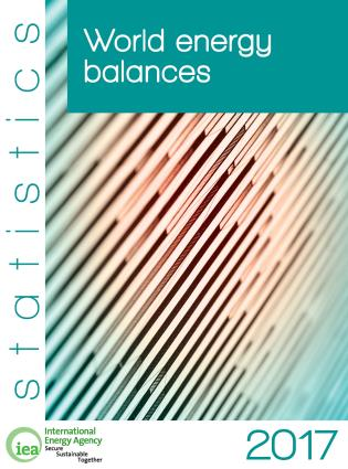 Cover image for the book World Energy Balances 2017