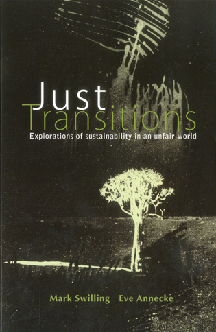Cover image for the book Just Transitions: Explorations of Sustainability in an Unfair World