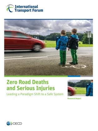 Cover image for the book Zero Road Deaths and Serious Injuries: Leading a Paradigm Shift to a Safe System