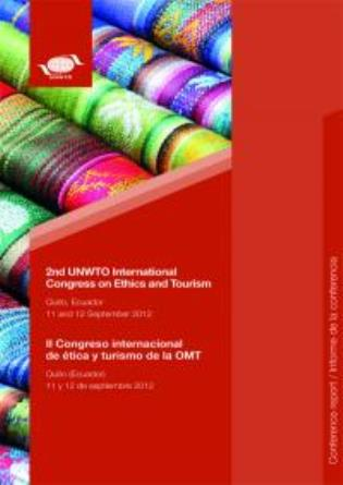Cover image for the book 2nd UNWTO International Congress On Ethics And Tourism: Quito, Ecuador, 11 And 12 September 20