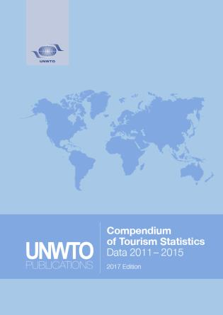 Cover image for the book Compendium Of Tourism Statistics: (2011-2015), 2017 Edition