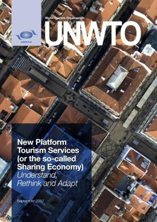 Cover image for the book New Platform Tourism Services (or the so-called Sharing Economy): Understand, Rethink and Adapt
