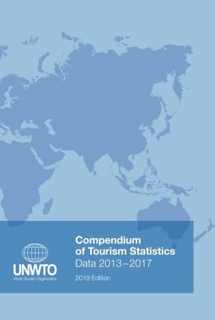 Cover image for the book Compendium Of Tourism Statistics: Data 2013-2017, 2019 Edition