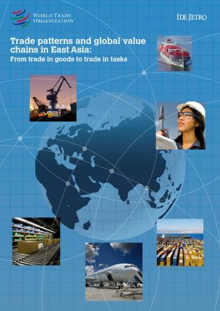 Cover image for the book Trade Patterns And Global Value Chains In East Asia