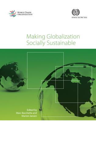 Cover image for the book Making Globalization Socially Sustainable