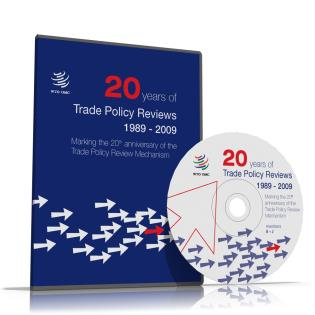 Cover image for the book 20 Years Of Trade Policy Reviews 1989-2009: Marking The 20th Anniversary Of The Trade Policy Review Mechanism