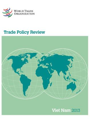 Cover image for the book Trade Policy Review - Vietnam: 2013