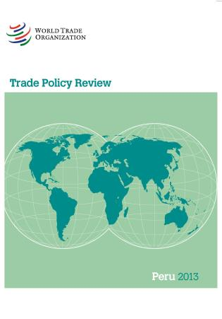 Cover image for the book Trade Policy Review - Peru: 2013