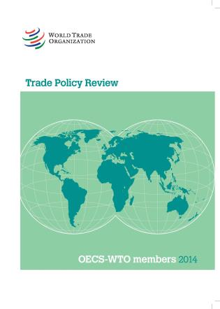 Cover image for the book Trade Policy Review - OECS - WTO Members: 2014