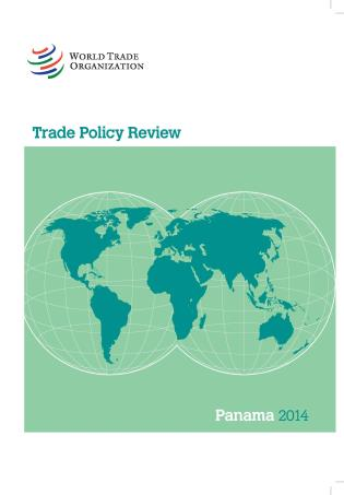 Cover image for the book Trade Policy Review - Panama: 2014