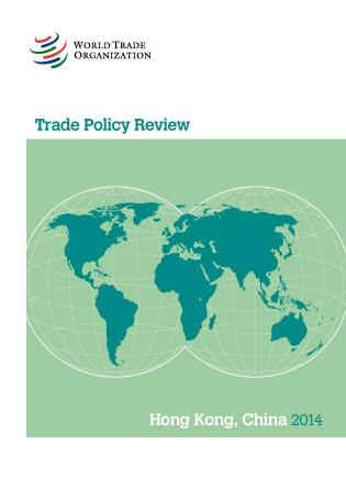 Cover image for the book Trade Policy Review - Hong Kong/China: 2014