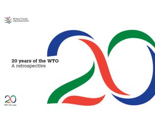 Cover image for the book 20 Years Of The WTO: A Retrospective