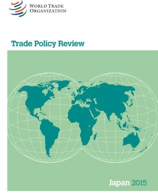 Cover image for the book Trade Policy Review - Japan: 2015