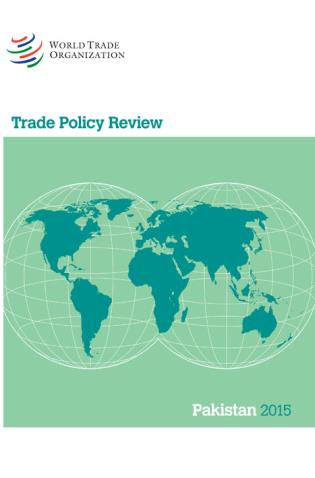 Cover image for the book Trade Policy Review - Pakistan: 2015