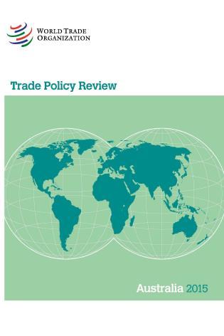 Cover image for the book Trade Policy Review - Australia: 2015