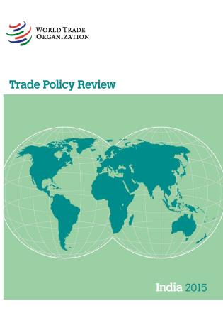 Cover image for the book Trade Policy Review - India: 2015