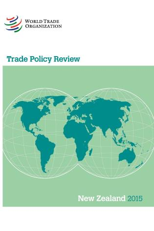 Cover image for the book Trade Policy Review - New Zealand: 2015