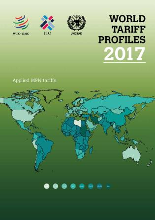 Cover image for the book World Tariff Profiles 2017