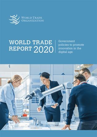 Cover image for the book World Trade Report 2020