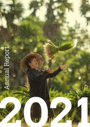 Cover image for the book WTO - Annual Report 2021