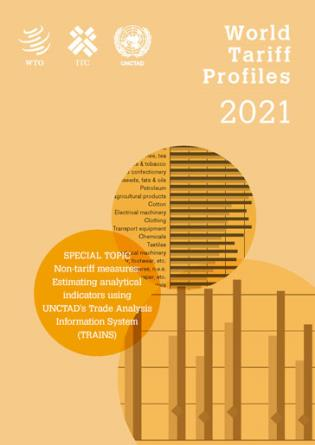 Cover image for the book World Tariff Profiles 2021