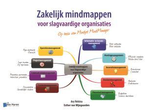 Cover image for the book Zakelijk Mindmappen Voor Slagvaardige Organisaties - Op Basis Van Mindjet Mindmanager