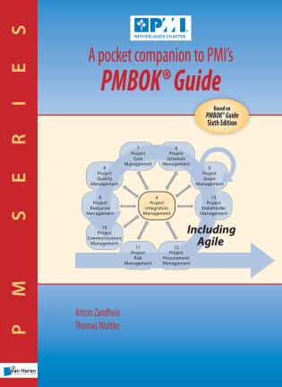 Cover image for the book A pocket companion to PMI's PMBOK® Guide: Based on PMBOK® Guide, Sixth Edition