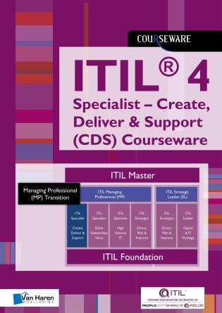 Cover image for the book ITIL® 4 Specialist – Create, Deliver & Support (CDS) Courseware