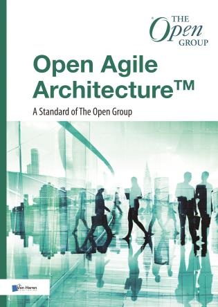 Cover image for the book Open Agile Architecture: A Standard of The Open Group