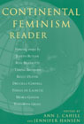 link and cover image for the book Continental Feminism Reader