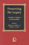 link and cover image for the book Preserving the Legacy: Concepts in Support of Sustainability