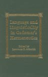 link and cover image for the book Language and Linguisticality in Gadamer's Hermeneutics
