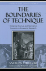 link and cover image for the book The Boundaries of Technique: Ordering Positive and Normative Concerns in Economic Research