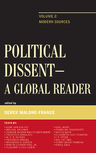 link and cover image for the book Political Dissent: A Global Reader: Modern Sources, Volume 2