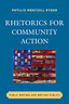 link and cover image for the book Rhetorics for Community Action: Public Writing and Writing Publics