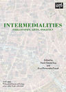 link and cover image for the book Intermedialities: Philosophy, Arts, Politics