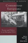 link and cover image for the book Contentious Europeans: Protest and Politics in an Integrating Europe