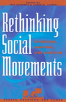 link and cover image for the book Rethinking Social Movements: Structure, Meaning, and Emotion