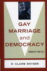 link and cover image for the book Gay Marriage and Democracy: Equality for All