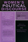 link and cover image for the book Women's Political Discourse: A 21st-Century Perspective