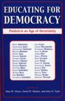 link and cover image for the book Educating for Democracy: Paideia in an Age of Uncertainty