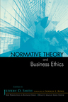 link and cover image for the book Normative Theory and Business Ethics