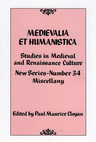 link and cover image for the book Medievalia et Humanistica, No. 34: Studies in Medieval and Renaissance Culture