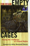 link and cover image for the book Empty Cages: Facing the Challenge of Animal Rights