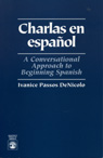 link and cover image for the book Charlas En Espanol: A Conversational Approach to Beginning Spanish
