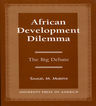 link and cover image for the book African Development: The Big Debate