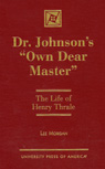 link and cover image for the book Dr. Johnson's 'Own Dear Master': The Life of Henry Thrale