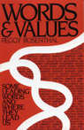 link and cover image for the book Words and Values: Some Leading Words and Where They Lead Us